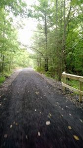 New trail surface